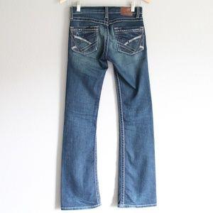 BKE Lexi Stretch Blue Denim Jeans